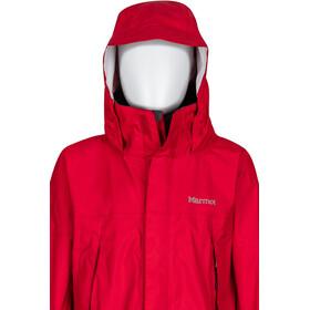Marmot PreCip Jacket Barn team red